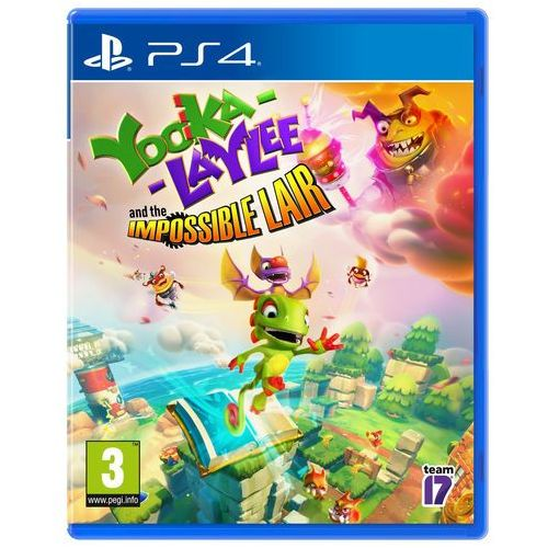 Gry na PS4, Yooka-Laylee (PS4)