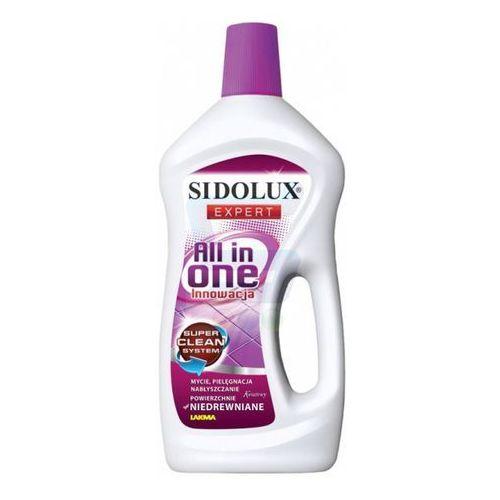 Płyny do czyszczenia podłóg, Płyn do mycia i pielegnacji powierzchni niedrewnianych Sidolux All in One 750 ml