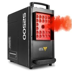 beamZ S2500 Wytwornica mgły 2500 W 24 diod LED 4w1 10 W DMX zbiornik 3,5 l