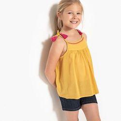 Lejąca bluzka z cienkimi ramiączkami 3-12 lat