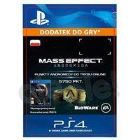 Pozostałe gry i konsole, Mass Effect Andromeda 5750 PKT [kod aktywacyjny]