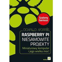 Raspberry Pi Niesamowite projekty Szalony Geniusz (opr. broszurowa)