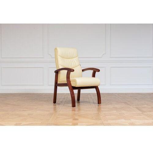 Fotele i krzesła biurowe, Krzesło COMFORTE kremowy