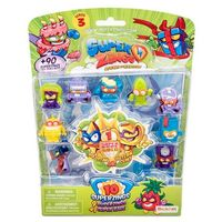 Figurki i postacie, MagicBox Super Zings Zestaw 10 figurek (1 złota), seria 3 Superzings