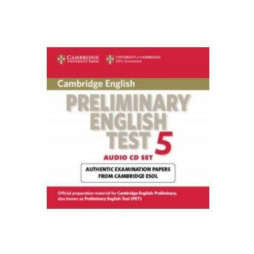 Książki do nauki języka, Cambridge PET 5 CD