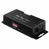 Zestawy i sprzęt DJ, MONACOR CPL-3DMX - 3-kanałowy kontroler diodowy RGB z interfejsem DMX