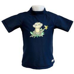 Koszulka kąpielowa bluzka dzieci 108cm filtrem UV50+ - Navy Jungle \ 108cm