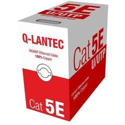 A-LAN UTP kabel 4PR kat.5e PVC 305m - Edycja LIMITOWANA (KIU5PVC305NC) Darmowy odbiór w 21 miastach!