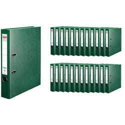 Segregator A4 5cm 50mm 25 sztuk Q.File HERLITZ - 5cm \ zielony