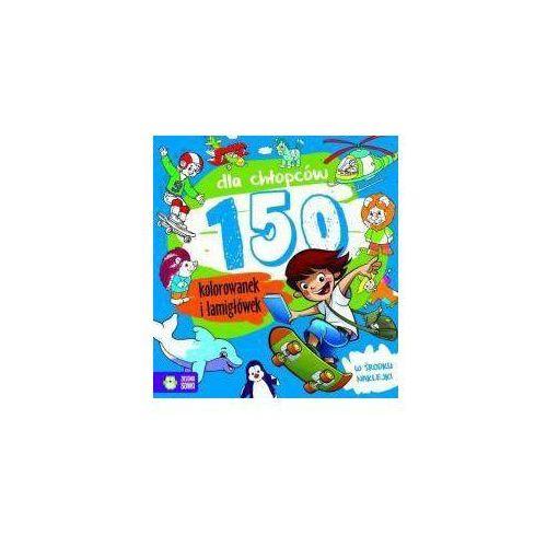Kolorowanki, 150 kolorowanek dla chłopców