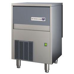 Łuskarka do lodu typu granulat 85 kg/24 h, pojemność zasobnika 30 kg, chłodzona wodą, 0,55 kW, 500x660x800 mm | NTF, SLT 180 W