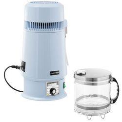 Uniprodo Destylator do wody - 4 l - regulacja temperatury - szklany dzbanek UNI-WD-250 - 3 LATA GWARANCJI
