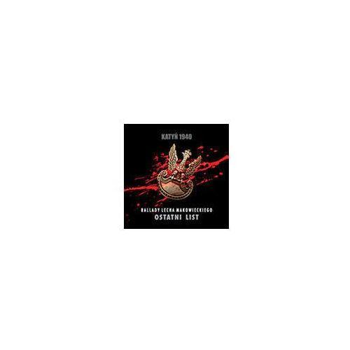Muzyka religijna, KATYŃ 1940 Ostatni list - CD promocja 04/2021 (-17%)