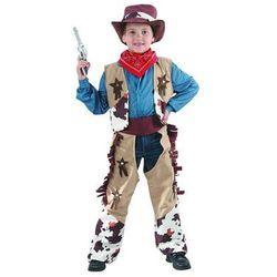 Wysokiej jakości kostium dziecięcy Kowboj - S - 110/120 cm