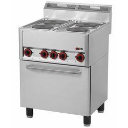 Kuchnia elektryczna z piekarnikiem | 11130W | 660x600x(H)860/920mm