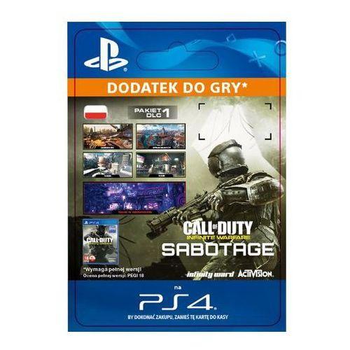 Pozostałe gry i konsole, Call of Duty: Infinite Warfare - Sabotage DLC [kod aktywacyjny]