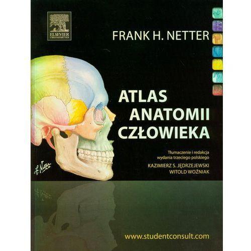 Książki medyczne, Atlas anatomii człowieka (opr. miękka)