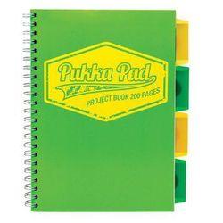 Kołozeszyt Pukka-Pad Project Book Neon 7297 B5/200k. kratka