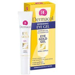 DERMACOL Gold Eye żel na zmęczone oczy 15ml