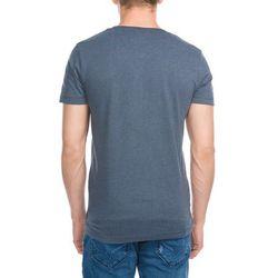 TOM TAILOR DENIM Tshirt z nadrukiem black iris blue
