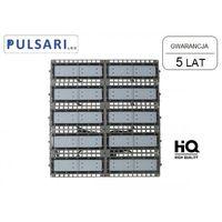 Naświetlacze zewnętrzne, Naświetlacz Halogen Reflektor 500W PULSARI FLAT LED 130 lm/W gw. 5 lat