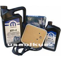 Filtry oleju do skrzyni biegów, Olej MOPAR ATF+4 oraz filtr oleju skrzyni biegów 42RE Jeep Grand Cherokee -1997