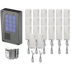 Zestaw 20-rodzinny Radbit Cyfrowy panel domofonowy wielorodzinny z szyfratorem KEC-4 NT MINI GD36