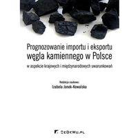 Biblioteka biznesu, Prognozowanie importu i eksportu węgla kamiennego w Polsce (opr. miękka)