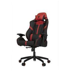 Vertagear S-Line SL5000 Racing Series Krzesło gamingowe - Czarno-czerwony - Skóra PU - 150 kg