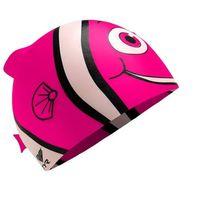 Czepki, TYR Charactyrs Happy Fish Czepek pływacki Dzieci różowy 2018 Czepki pływackie Przy złożeniu zamówienia do godziny 16 ( od Pon. do Pt., wszystkie metody płatności z wyjątkiem przelewu bankowego), wysyłka odbędzie się tego samego dnia.
