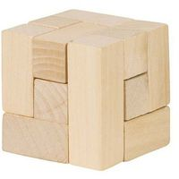 Układanki, Drewniana kostka układanka logiczna