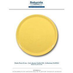 Hendi Talerz do pizzy Speciale porcelanowy żółty 330 mm - kod Product ID