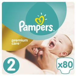 Pieluchy jednorazowe PAMPERS Premium Care 2 Mini 3-6 kg (80 sztuk)