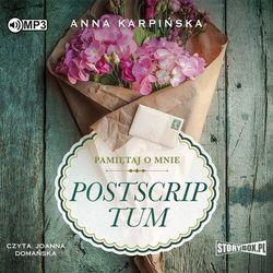 Cd mp3 postscriptum. pamiętaj o mnie. tom 2 - anna karpińska