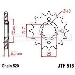 Zębatka przednia JT F516-15, 15Z, rozmiar 520 2200336 Suzuki GS 500