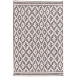Dekoria Dywan Modern Rhombs mink/wool 120x170cm, 120 × 170 cm