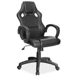 Fotel gamingowy Signal Q-103 - fotel dla gracza - czarny
