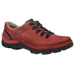 Półbuty buty trekkingowe KORNECKI 5329 Czerwone - Czerwony