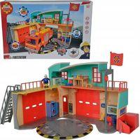 Lalki dla dzieci, Simba strażak sam nowa stacja ratunkowa z figurką