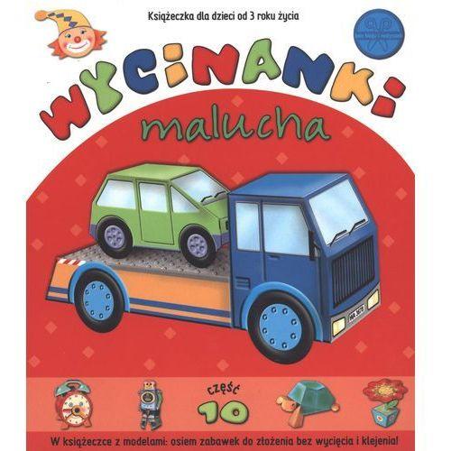 Książki dla dzieci, Wycinanki malucha część 10 - Praca zbiorowa (opr. kartonowa)