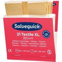 Pozostałe materiały opatrunkowe, Plaster tekstylny Salvequick duży