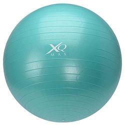 Piłka gimnastyczna do ćwiczeń, 65 cm, z pompką nożną - niebieska