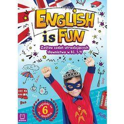 English is fun Zestaw zadań utrwalających słownictwo w klasach 1-4 (opr. miękka)