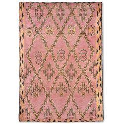 HKliving Ręcznie tkany wełniany dywan berberyjski kolor terra/pomarańczowy (250x350) TTK3043