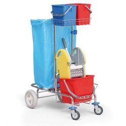 Profesjonalny jednowiadrowy wózek do sprzątania