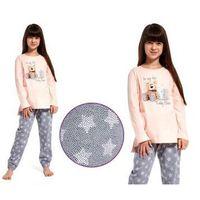 Piżamy dziecięce, Piżama dziecięca STAR: szary/róż