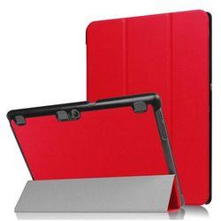 Etui Smart Cover Lenovo Tab2 A10-30/ Tab 10 X103 Czerwone - Czerwony