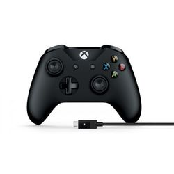 MICROSOFT Kontroler Xbox One + kabel PC Bluetooth >> BOGATA OFERTA - SUPER PROMOCJE - DARMOWY TRANSPORT OD 99 ZŁ SPRAWDŹ!
