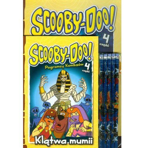 Książki dla dzieci, Scooby Doo Klątwa mumii + ołówki. Zestaw 2 książek + ołówki z gumką (opr. miękka)