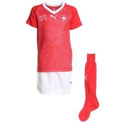 Puma SCHWEIZ HOME MINIKIT SET Krótkie spodenki sportowe red/white